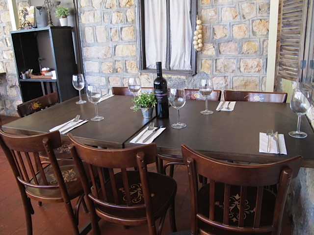 Our beloved restaurant in Metula