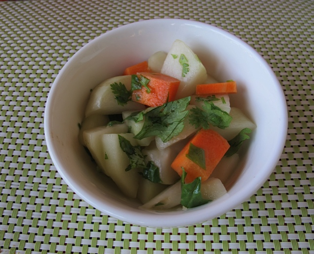 Colorful Chayote Salad