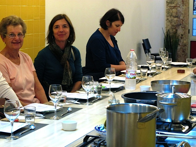 Barcelona cooking school
