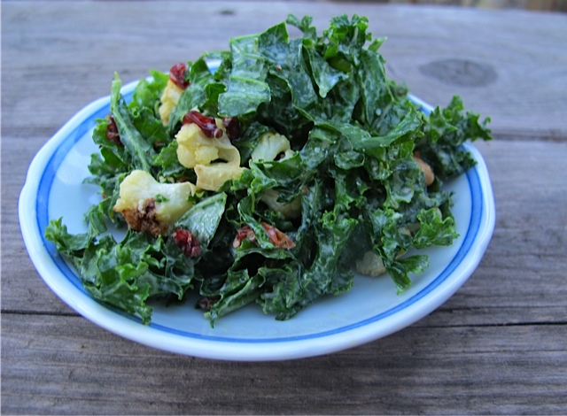 Kale & Cauliflower Salad