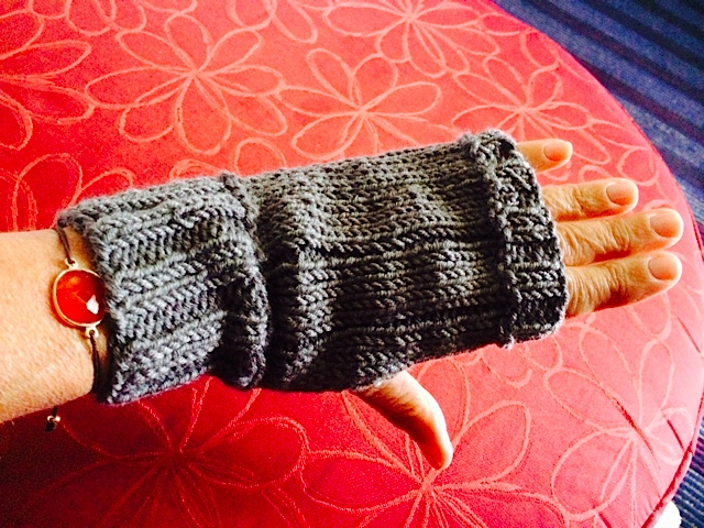 Fingerless Gloves - What I Create When I'm Traveling