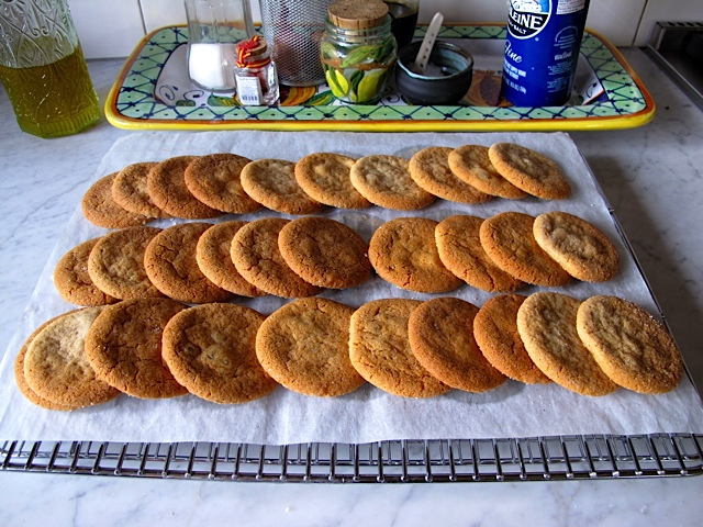 Rows and Rows of Cookies