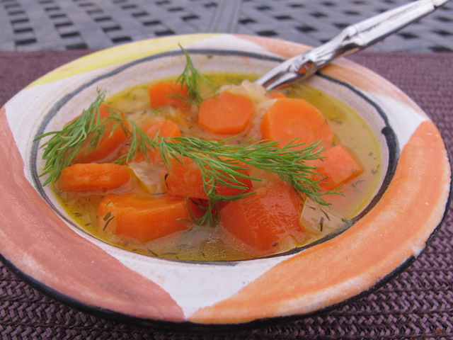 Colorful Carrot Soup