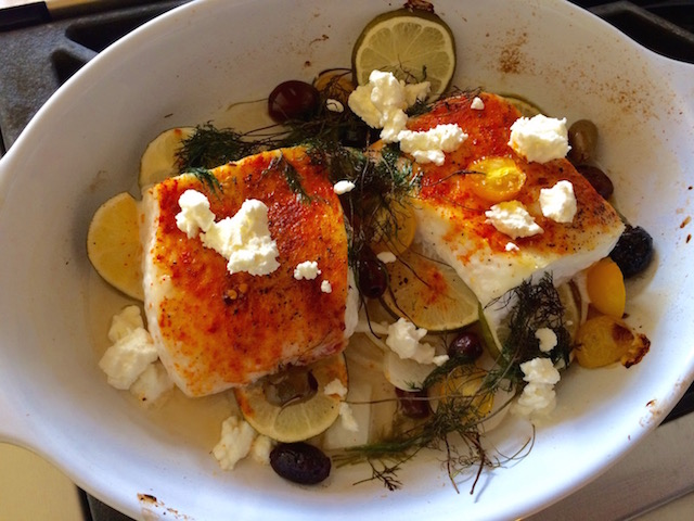 Mouth-Watering Mediterranean Halibut