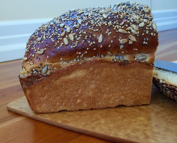 Simply Divine Seeded Kefir Bread