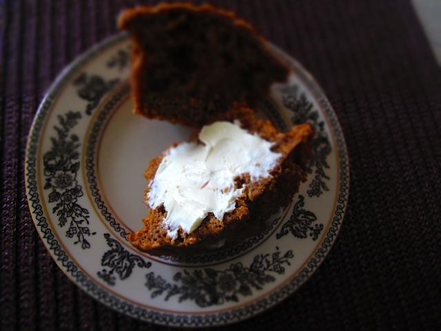Beautiful Bran Muffins with Softened Cream Cheese