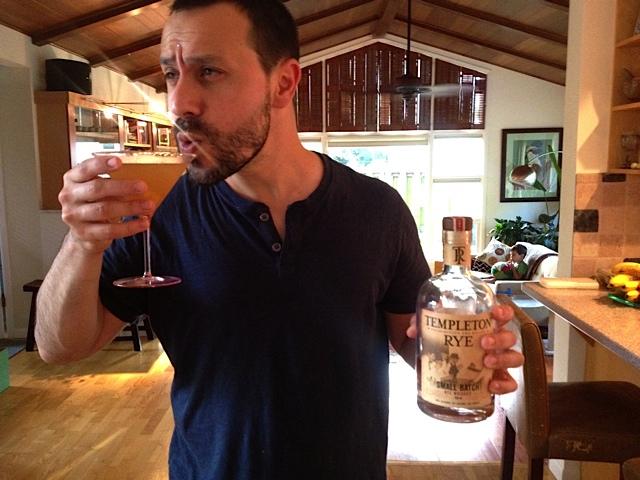 Jonathan enjoying a perfect Prohibition