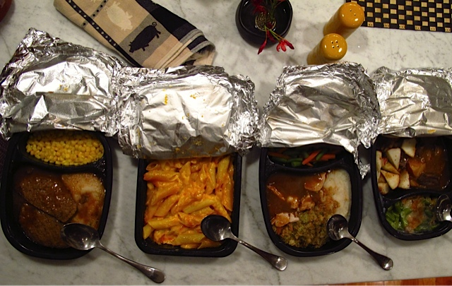 TV Dinners ... not so tantalizing...