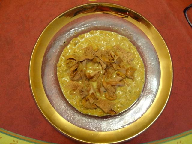 Cream of Chanterelle Soup