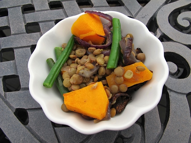 Lovely Lentil & Squash Fall Salad