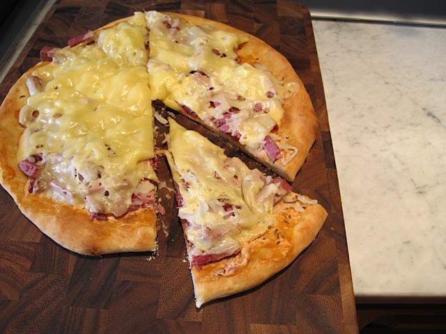 Reuben Pizza - Ready to Eat!