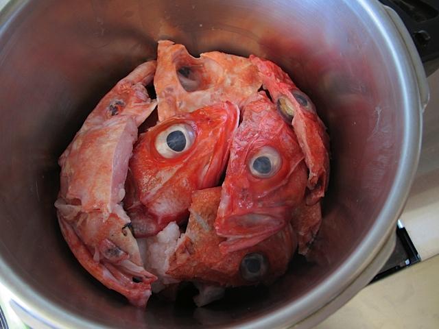 Fish heads!