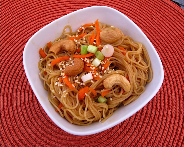 Tangy Noodles!