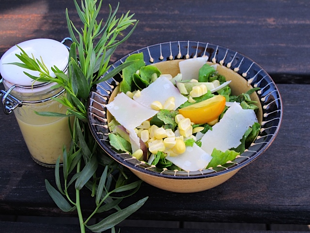 Summer Salad with Tarragon Dressing