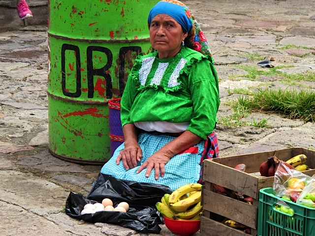 Native Vendor - Oaxaca, Mexico