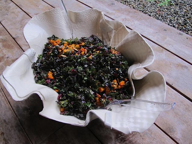 Colorful Kale Salad