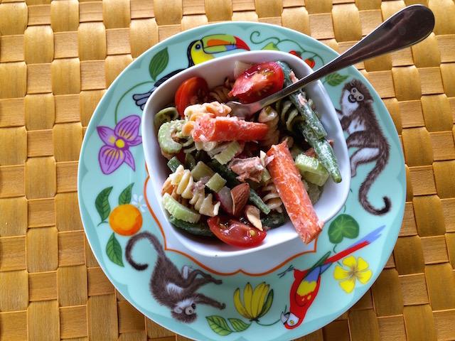 Sumptuous Sesame Salmon Salad