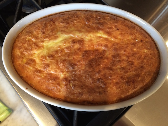 Corn Pudding in My Favorite Dish
