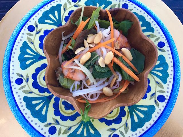 Bright & Colorful Vietnamese Salad