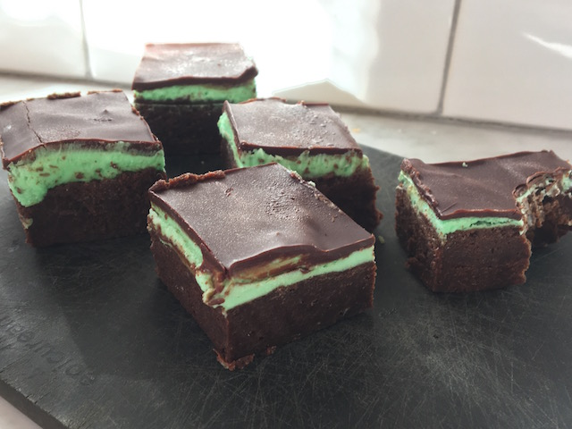 Magical Mint Brownies